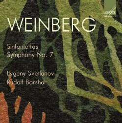 Moisey Weinberg - Weinberg: Sinfoniettas/Symphony No. 7
