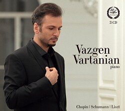 Vazgen Vartanian - Vazgen Vartanian Plays Chopin, Schumann, Liszt