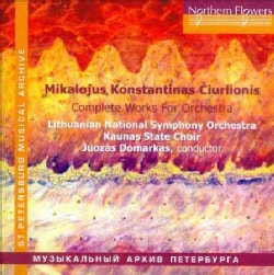 Mikalojus Konstantinas Ciurlionis - Ciurlionis: Complete Works for Orchestra
