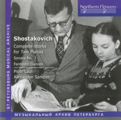 Alexander Sandler - Shostakovich: Complete Works for Two Pianos/Fantastic Dances