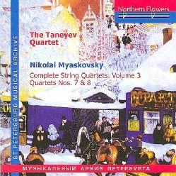 Nikolai Miaskovsky - Miaskovsky: Complete String Quartets: Vol. 3: Quartets Nos. 7 and 8