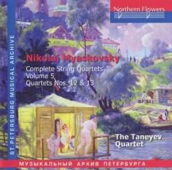 Nikolai Miaskovsky - Miaskovsky: Complete String Quartets: Vol. 5: Quartets Nos. 12 & 13