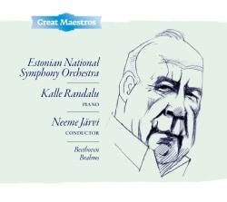 Kalle Randalu - Beethoven/Brahms: Piano Concertos