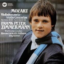 FRANK PETER ZIMMERMANN - MOZART: VIOLIN CONCERTOS NOS. 3 & 5