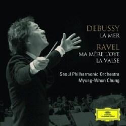 CHUNG MYUNG-WHUN - DEBUSSY: LA MER/RAVEL: MA MERE L'O (SHM-CD)