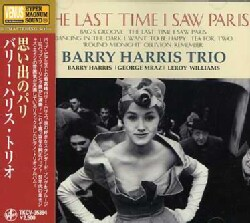 Barry Harris - The Last Time I Saw Paris