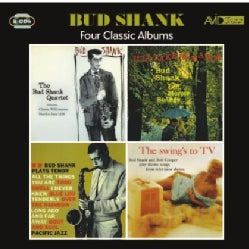 Bud Shank - Swing's to TV/Featuring Claude Williamson/Plays Tenor/I'll Take Romance
