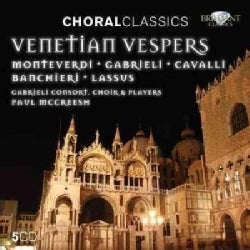 Gabrieli Consort and Players - Venetian Vespers (Choral Classics Series)