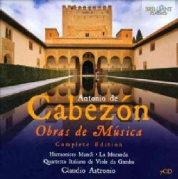 Antonio De Cabezon - Cabezon: Obras De Musica