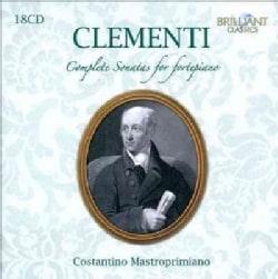 Constantino Mastroprimiano - Clementi: Complete Sonatas for Fortepiano