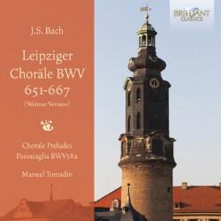 Manuel Tomadin - Bach: Leipziger Chorale BWV651-667 (Weimar Version)