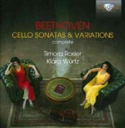Timora Rosler - Beethoven: Complete Cello Sonatas & Variations