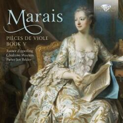 Rainer Zipperling - Marais: Pieces De Viole: Book V