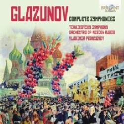 Tchaikovsky Symphony Orchestra Of Moscow Radio - Glazunov: Complete Symphonies