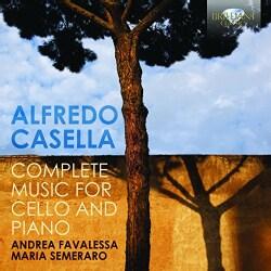 Andrea Favalessa - Casella: Complete Music for Cello and Piano