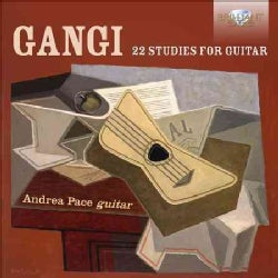 Mario Gangi - Gangi: 22 Studies for Guitar