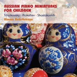 Various - Russian Piano Miniatures for Children
