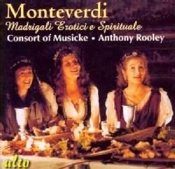 Anthony Rooley - Monteverdi: Madrigale Erotici E Spirituale
