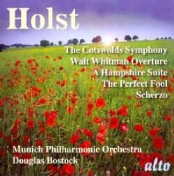 Munich Symphony Orchestra - Holst: Cotswolds Symphony, Walt Whitman Overture, And others