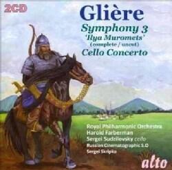 Reinhold Gliere - Gliere: Symphony No. 3/Celle Concerto
