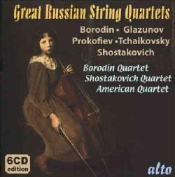 Borodin Quartet - Great Russian String Quartets