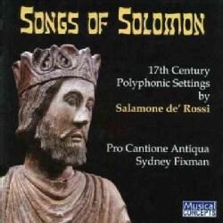 Salamone De'Rossi - De'Rossi: The Songs of Solomon