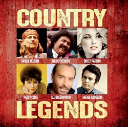 VARIOUS ARTIST - COUNTRY LEGENDS