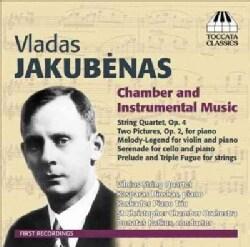 Vladas Jakubenas - Jakubenas: Chamber and Instrumental Music