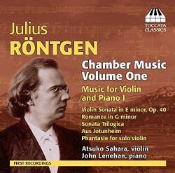 Atsuko Sahara - Rontgen: Chamber Music: Vol. 1: Music for Violin and Piano