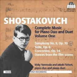 Jakob Fichert - Shostakovich: Complete Music for Piano Duo and Duet Volume One