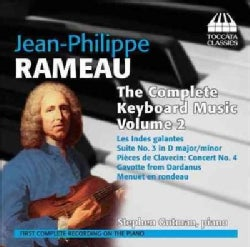 Stephen Gutman - Rameau: Complete Keyboard Music: Vol. 2