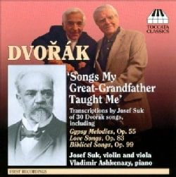 Josef Suk - Dvorak: Songs My Great- Grandfather Taught Me