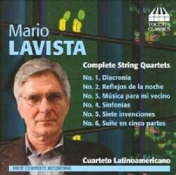Mario Lavista - Lavista: Complete String Quartets