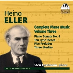 Sten Lassmann - Eller:Complete Piano Music: Vol. 3
