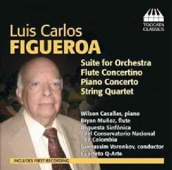 Orquesta Sinfonica Del Conservatorio Nacional De Colombia - Figueroa: Orchestral and Chamber Music