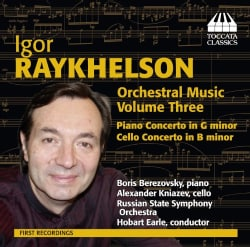 Hobart Earle - Raykhelson: Orchestral Music: Vol. 3