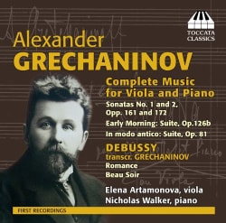 Elena Artamonova - Grechaninov: Complete Music for Viola and Piano