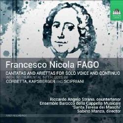 Riccardo Angelo Strano - Cantatas for Solo Voice & Continuo