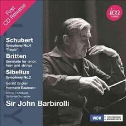 John Sir Barbirolli - Sibelius/Schubert/Britten: Legacy: Sir John Barbirolli
