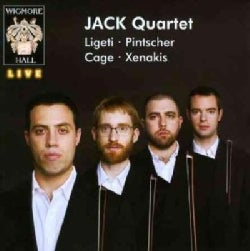 Jack Quartet - Ligeti/Pintscher/Cage/Xenakis