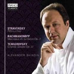 Alexander Ghindin - Stravinsky: Petrouchka