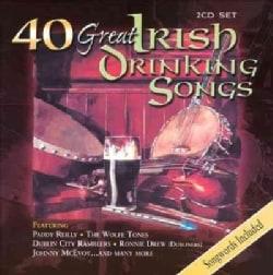 Various - 40 Great Irish Drinking Songs