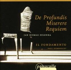 J.D. ZELENKA - DE PROFUNDIS/MISERERE/REQUIE
