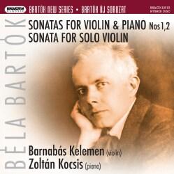 Zoltan Kocziz - Bartok: Sonatas for Violin and Piano Nos. 1 & 2/Sonata for Solo Violin
