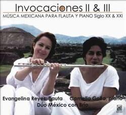 Camelia Goila - Ponce: Invocaciones II & III
