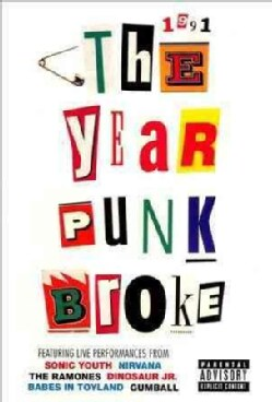Sonic Youth: 1991- The Year Punk Broke (DVD)