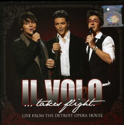 IL VOLO - TAKES FLIGHT-LIVE FROM THE DETROIT.. DELUXE CD/DVD