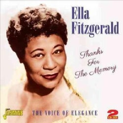 Ella Fitzgerald - Thanks For The Memory