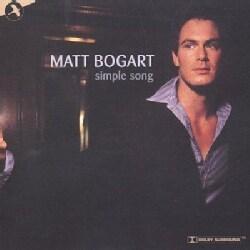 Matt Bogart - Simple Song