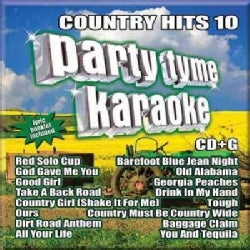 Various - Party Tyme Karaoke: Country Hits 10